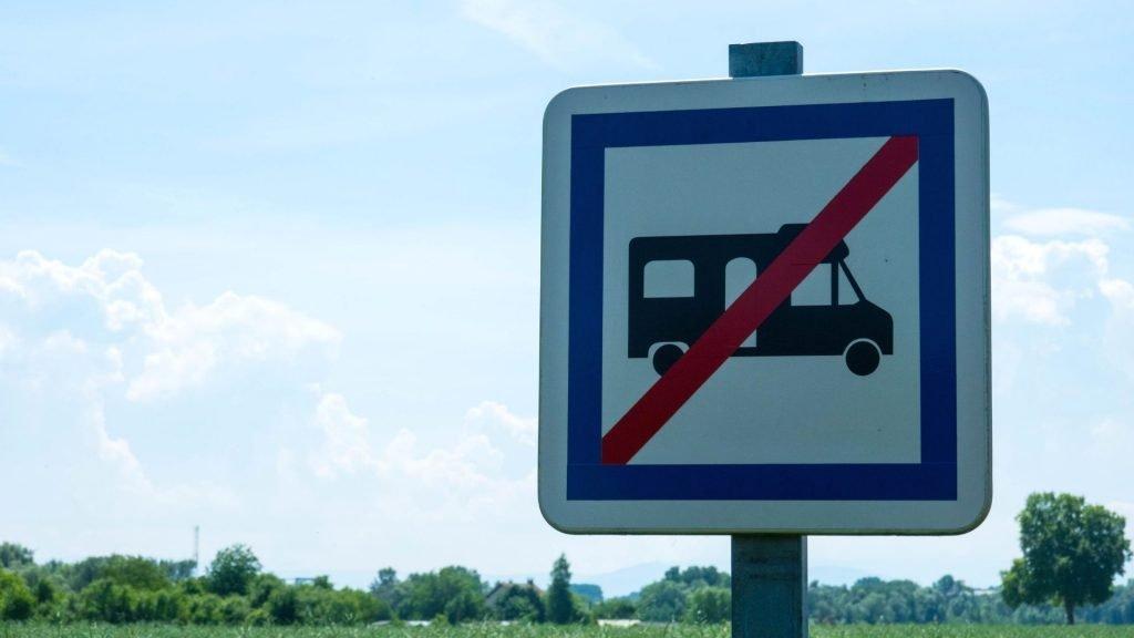 RV forbidden