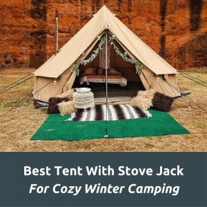 Best Tent With Stove Jack - Featured Image